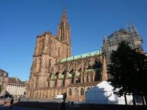 Catedral de nuestra señora de Estrasburgo Foto de archivo libre de regalías