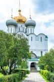 Catedral de nuestra señora de Smolensk Imágenes de archivo libres de regalías