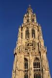 Catedral de nuestra señora en Amberes Imagenes de archivo