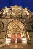 Catedral de nuestra señora de Reims imagen de archivo