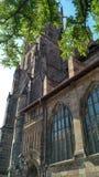 Catedral de Nuremberg imagen de archivo libre de regalías