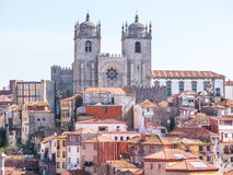 Catedral de Oporto Foto de archivo