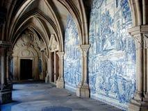 Catedral de Oporto, claustro Foto de archivo