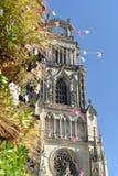 Catedral de Orléans - Orléans - França fotos de stock royalty free