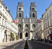 Catedral de Orléans - Orléans - França fotos de stock