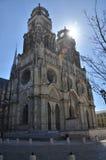 Catedral de Orléans Imágenes de archivo libres de regalías