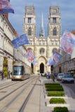 Catedral de Orleans Imágenes de archivo libres de regalías