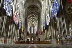 Catedral de Orleans, Francia Imagen de archivo libre de regalías