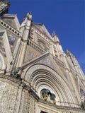 Catedral de Orvieto fotografia de stock