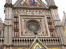 Catedral de Orvieto imagem de stock royalty free