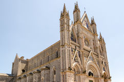 Catedral de Orvieto, Itália Imagem de Stock Royalty Free