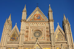 Catedral de Orvieto, Umbría, Italia Orvieto Imagen de archivo libre de regalías