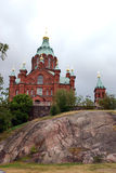 Catedral de Ouspensky Foto de archivo libre de regalías