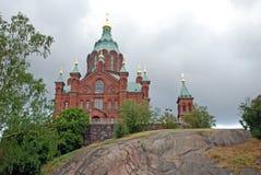 Catedral de Ouspensky Imagenes de archivo