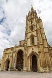 A catedral de Oviedo, as Astúrias - Espanha Imagens de Stock