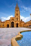 Catedral de Oviedo en Asturias España foto de archivo libre de regalías