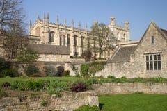 Catedral de Oxford, iglesia de Cristo Fotografía de archivo libre de regalías