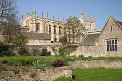 Catedral de Oxford, igreja de Christ fotografia de stock royalty free