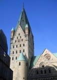 Catedral de Paderborner Foto de Stock Royalty Free