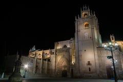 Catedral de Palencia Foto de archivo libre de regalías