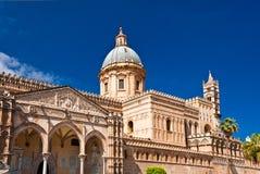 A catedral de Palermo Fotografia de Stock Royalty Free