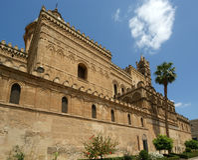 A catedral de PalermoSicily, Italy do sul. Imagens de Stock Royalty Free