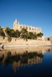 Catedral de Palma Imagen de archivo libre de regalías