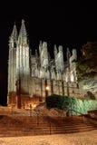 Catedral de Palma de Majorca Foto de archivo libre de regalías