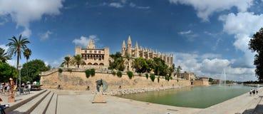 Catedral de Palma de Majorca Foto de Stock Royalty Free