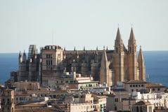 Catedral de Palma de Mallorca Foto de Stock Royalty Free