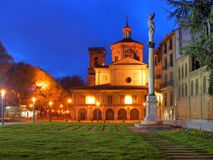 Catedral de Pamplona foto de archivo libre de regalías