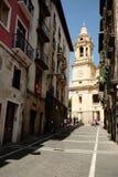 Catedral de Pamplona Imagen de archivo libre de regalías