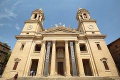 Catedral de Pamplona Fotografía de archivo