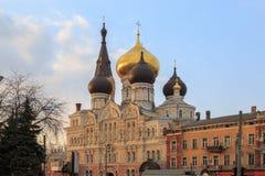 Catedral de Panteleimon en Odessa imagenes de archivo