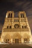 Catedral de París - de Notre Dame Fotos de archivo