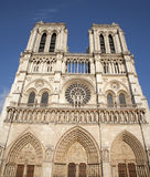 Catedral de París - de Notre Dame Foto de archivo libre de regalías