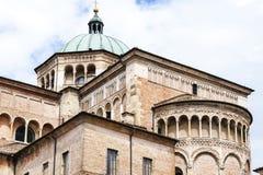 Catedral de Parma Imagen de archivo libre de regalías