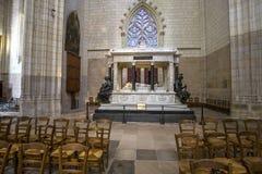 Catedral de Paul Saint Peter del santo, Nantes, Francia Fotos de archivo libres de regalías