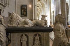 Catedral de Paul Saint Peter del santo, Nantes, Francia Fotografía de archivo libre de regalías