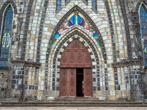 Catedral de pedra Imagens de Stock