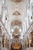 Catedral de pedra gótico Foto de Stock Royalty Free