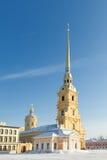 Catedral de Peter e de Paul imagens de stock