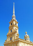 Catedral de Peter e de Paul Fotografia de Stock