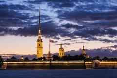Catedral de Peter e de Paul Imagem de Stock