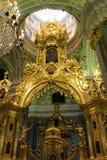 Catedral de Peter e de Paul, St Petersburg fotos de stock