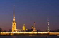 Catedral de Peter y de Paul Imagen de archivo libre de regalías