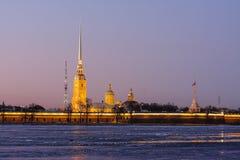 Catedral de Peter y de Paul Imágenes de archivo libres de regalías