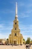 Catedral de Peter y de Paul Fotografía de archivo