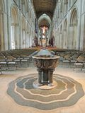 Catedral de Peterborough Imagenes de archivo