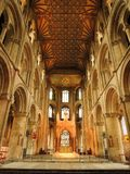 Catedral de Peterborough Fotografia de Stock Royalty Free